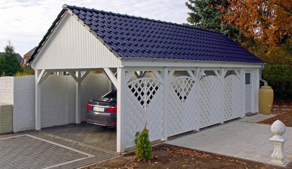 Individuelle Carports Aus Holz  Qualität Made In Germany Picture Example for Carport Garage Metal