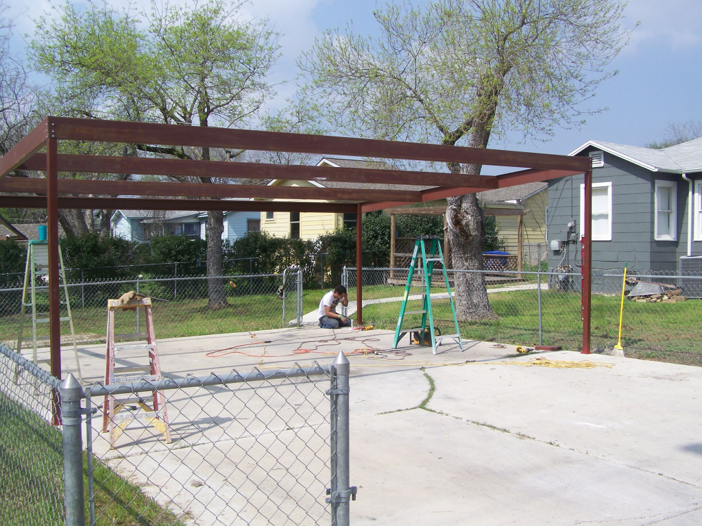 Interesting Diy Metal Carport About Carports Steel Designs Photo Example of How To Build A Metal Carport Plans