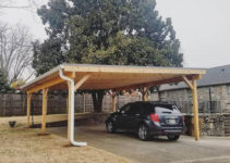 Invest In A Nashville Custom Carport With Stratton Exteriors Photo Sample in Wood Carport With Metal Roof
