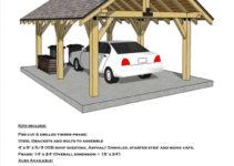 Jackson Hill Timber Frames Accessory Buildings Photo Sample of Wood Carport Kits Canada
