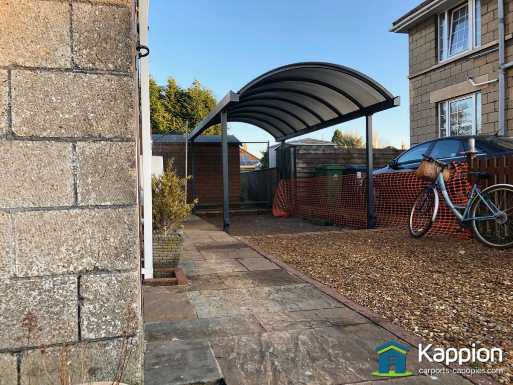 "Kappion Canopies On Twitter ""a Beautiful Single Halfcurve Photo Sample of Driveway Carport Canopy"