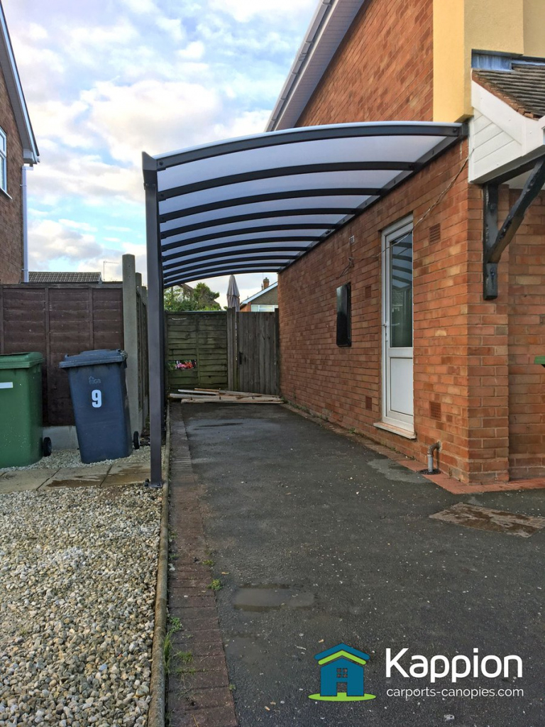 "Kappion Canopies On Twitter ""another Driveway Protected Photo Example in Driveway Carport Canopy"