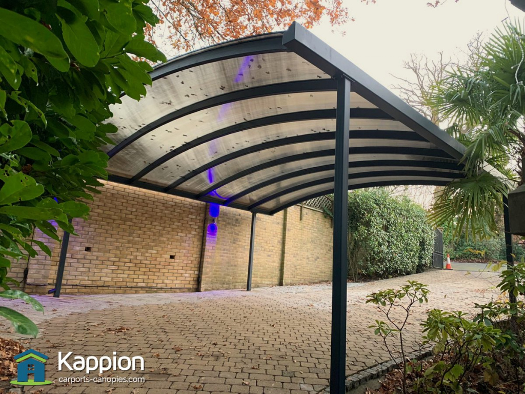 "Kappion Carports  Canopies On Twitter ""a Spectacular Facade Example for Driveway Carport Canopy"