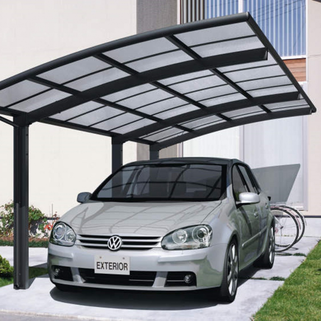 Kcr Canopy Image Example in Cantilever Carport Canopy