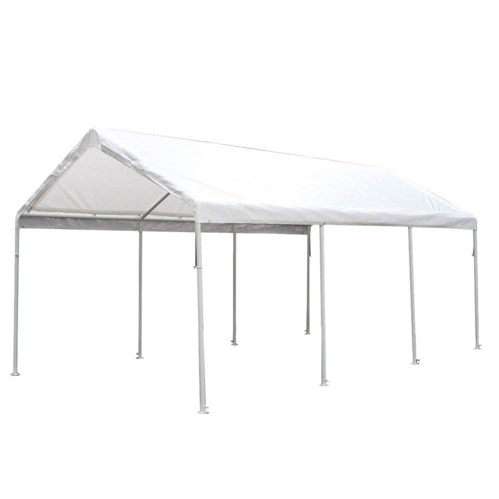 King Canopy Hc1020Pc 10 X 20 Ft Hercules 8Leg Canopy White  Walmart Image Sample for King Canopy 10 X 20 Ft Canopy Carport 6 Legs