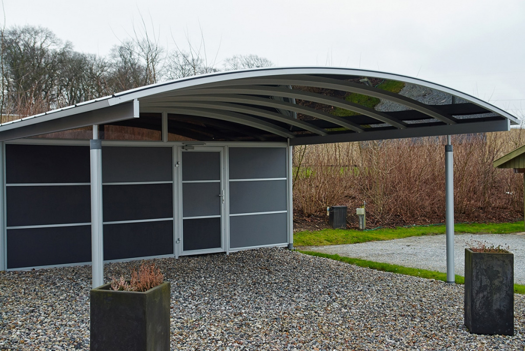 Kredit Für Carport › Kreditexpertede Wissen Facade Sample of Carport Garage Metal