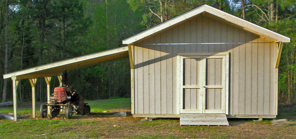 Lean To Patio Covered Garage Build A Shed Attached Carport Image Example in Wood Carport Attached To House