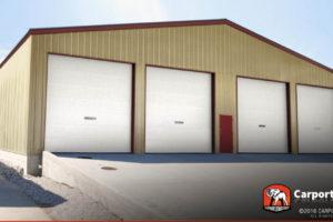 Maine Carports Metal Buildings And Garages Facade Sample of Metal Carport Maine