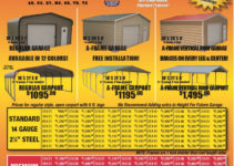 Md Enterprises Carport Pricingupdated Pricing As Of May Picture Example in All Steel Carport Prices