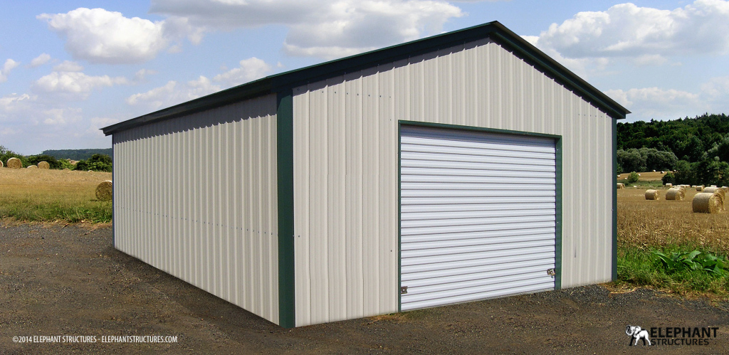 Metal Buildings Garages Carports  Barns Online Elephant Image Sample of 24X40 Metal Carport