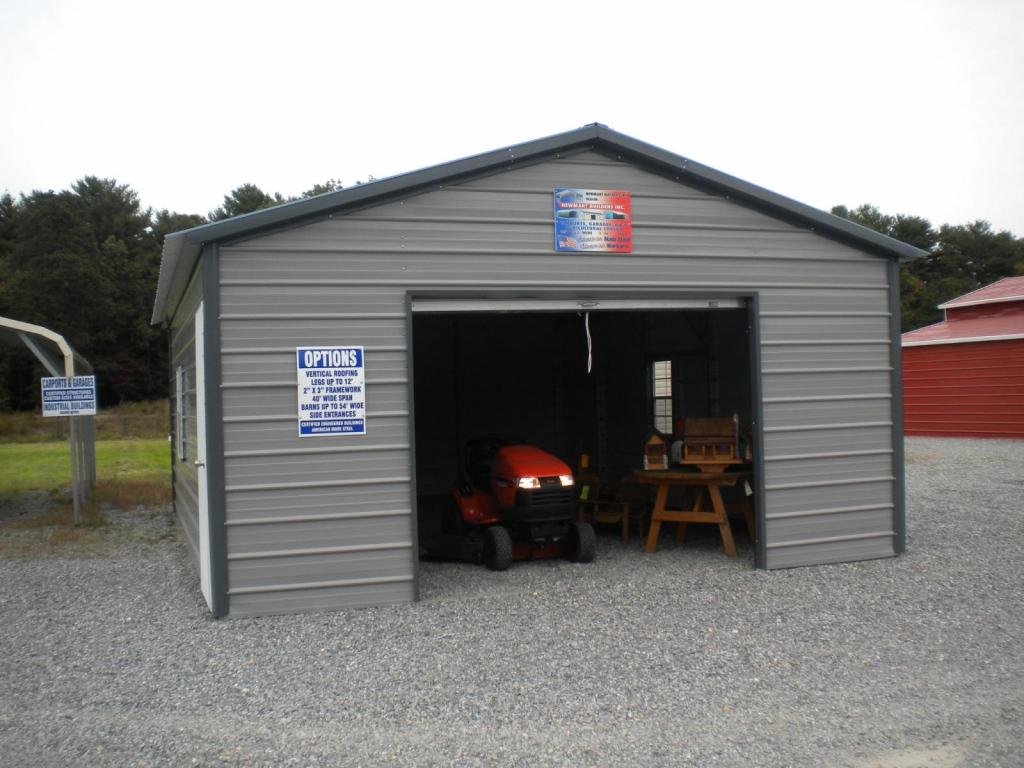 Metal Carport Garage Design — Mile Sto Style Decorations Image Sample of Metal Carport With Shop