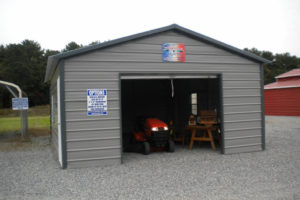 Metal Carport Garage Design — Mile Sto Style Decorations Photo Sample for Enclosed Metal Carport