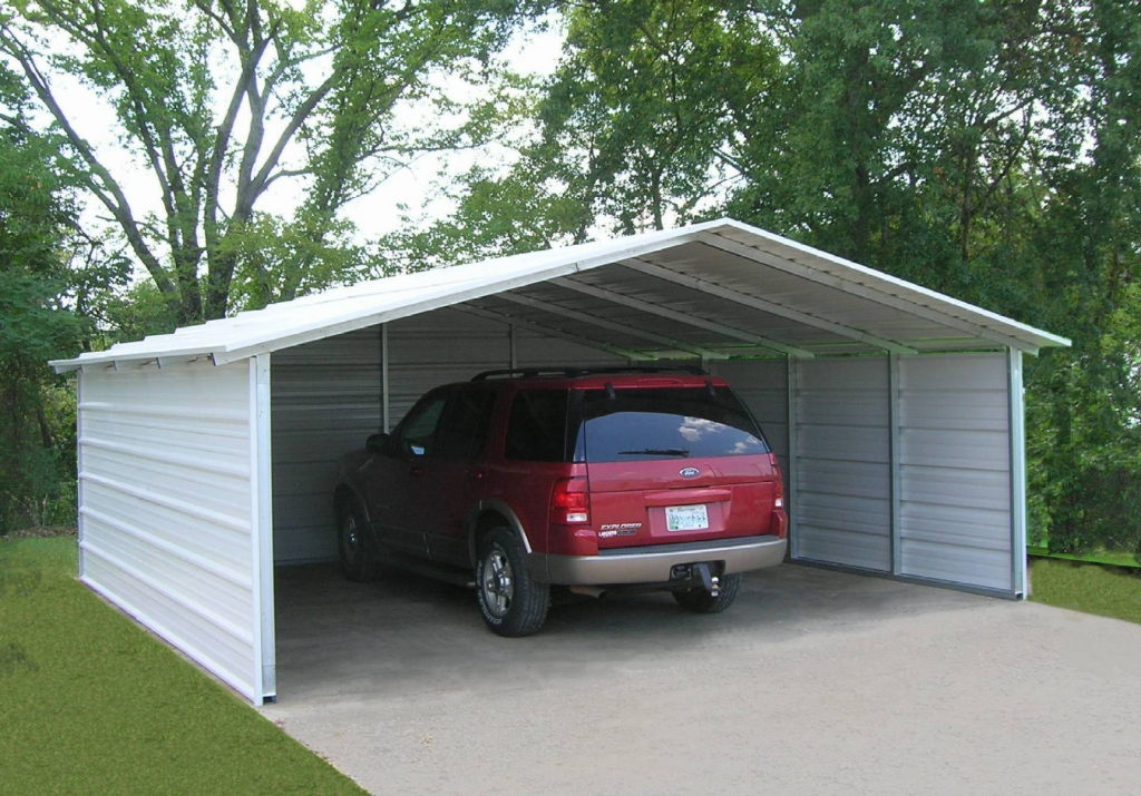 Metal Carport Kits Do Yourself  Allstateloghomes Facade Example in Wood Carport Kits For Sale