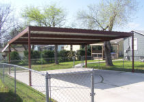 Metal Carport Kits Do Yourself  Allstateloghomes Picture Example for Flat Roof Metal Carport Kits