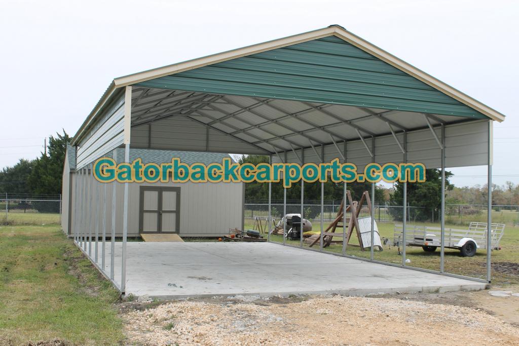 Metal Carport Prices Steel Carport Prices Gatorback Picture Sample in 24X40 Metal Carport