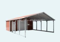 Metal Carport With Storage Room  Buy Steel Workshopschina Steel Carport  Kits Manufacturermetal Carport With Storage Room Product On Alibaba Facade Sample in Metal Carport With Storage Room