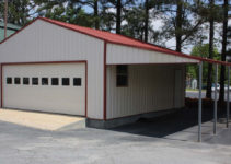 Metal Carports And Garages Ideas — Mile Sto Style Decorations Facade Sample in Attached Carport To Garage
