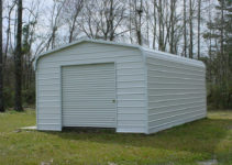 Metal Carports And Garages Ideas — Mile Sto Style Decorations Image Sample of Small Metal Carport