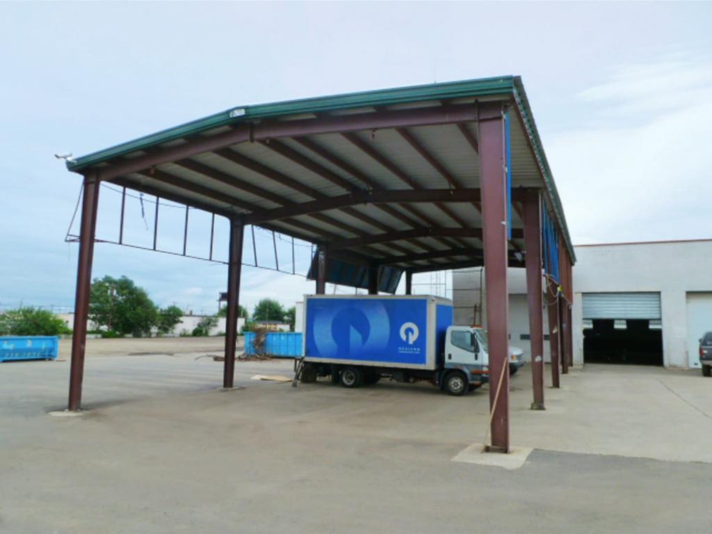 Metal Carports  Easy To Assemble Steel Carport Kits Facade Sample of Metal Carport Trim