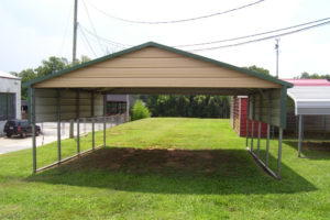 Metal Carports In Oklahoma  Steel Carports Ok Image Example in Metal Carport Oklahoma