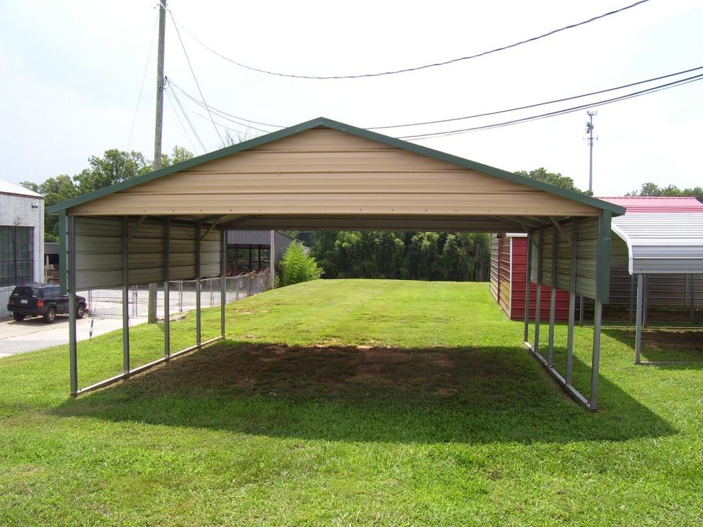 Metal Carports In Oklahoma  Steel Carports Ok Image Example in Metal Carport Oklahoma