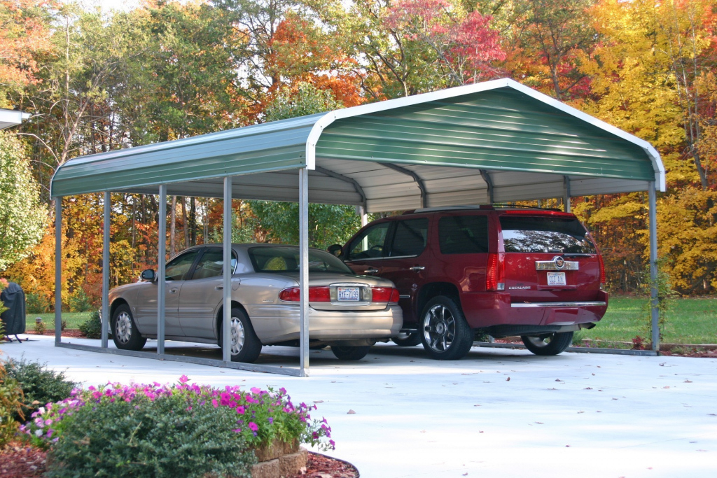 Metal Carports In Oklahoma  Steel Carports Ok Picture Example of Metal Carport Oklahoma