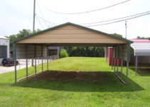 Metal Carports Starke Fl  Starke Florida Carports Facade Example in Metal Carport Tallahassee
