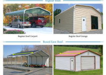 Metal Garages For Sale  Free Installation Of Steel Garage Photo Sample for Metal Carport Prices Near Me