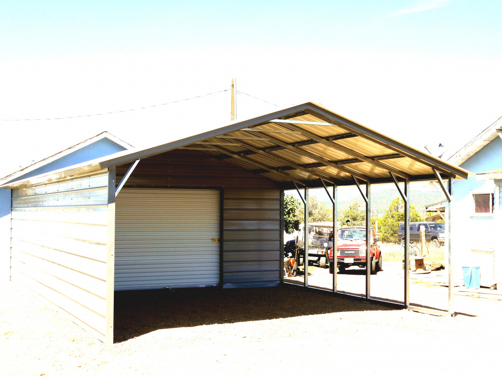 Metal Patio Covered Canopy Cheap Carport Find Deals On Line Picture Sample in Cantilever Carport Kit