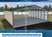Metal Structures 32' To 40' Wide  Metal Carport Depot Picture Example for Metal Carport Depot Llc
