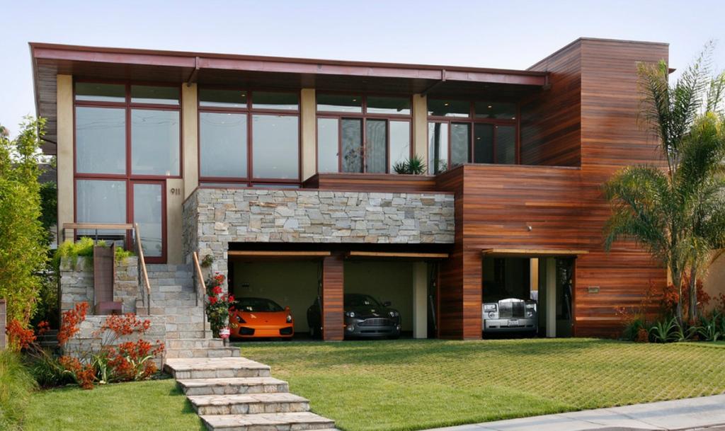 Modern Garage Doors Flat Roof — Home Designjohn From Photo Example for Modern Flat Roof Carport