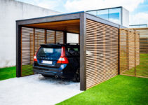 Modu Carport  Collstrop Facade Example of Metal Carport Pieces