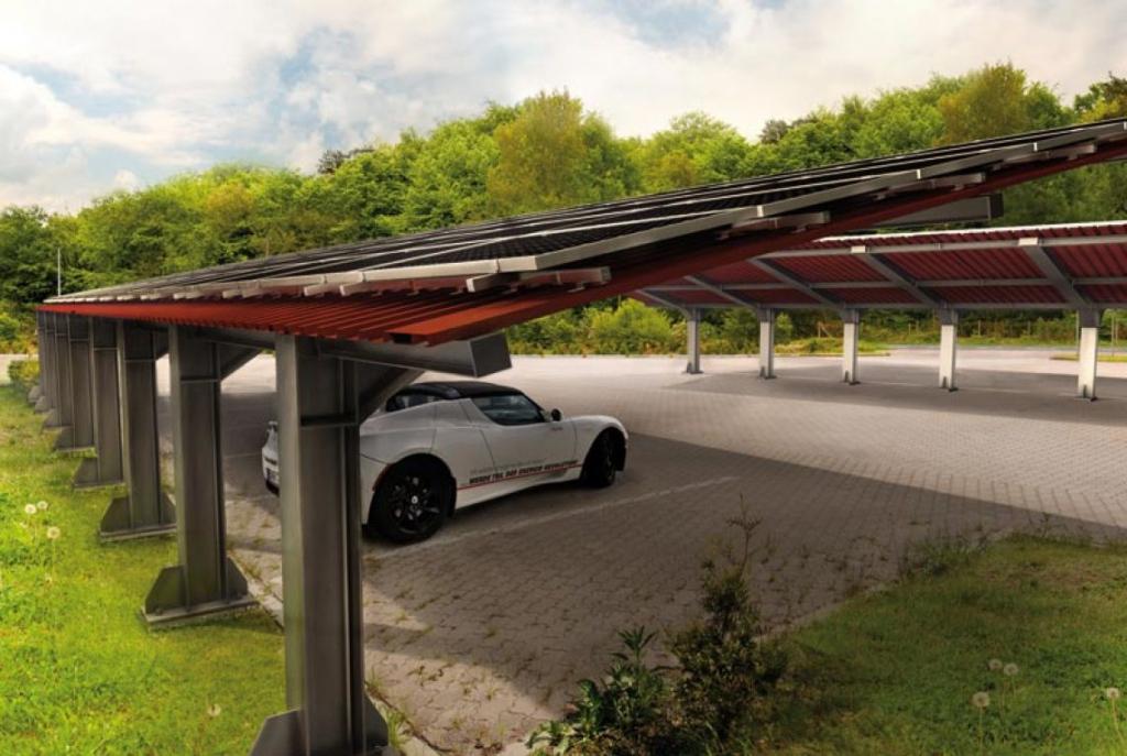 Modulare Und Erweiterbare Solarcarportsysteme Von Mptec Photo Sample for Solar Carport Design