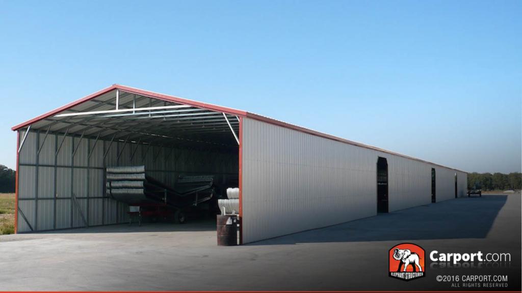Oregon Carports Metal Buildings And Garages Facade Example in Metal Carport Oregon