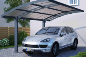 Palram Arizona 5000 Wave Cantilever Carport Picture Example for Cantilever Carport Kits Uk