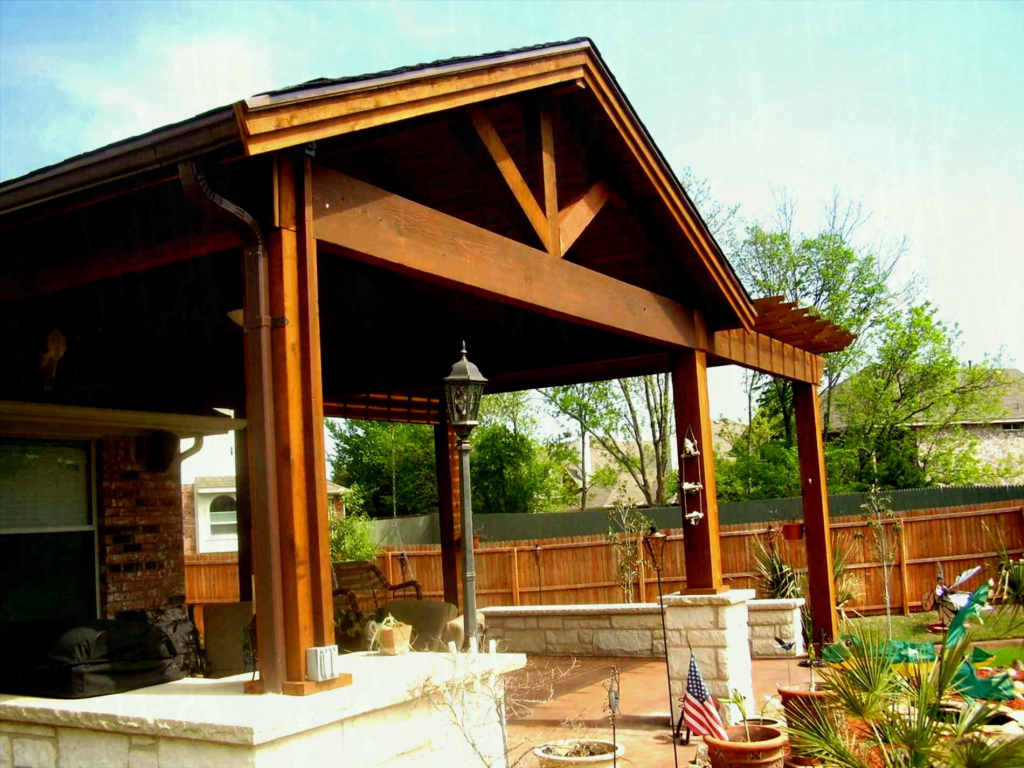 Patio Covered Flat Roof Lean Metal Carport Kits Lowes Double Facade Sample for Wood Carport Kits