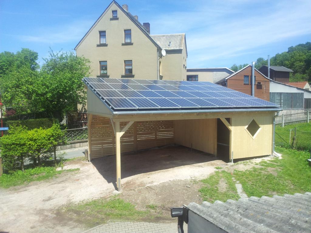 Photovoltaikanlagen Profil Solarcarport René Aus Hartenstein Picture Sample in Solar Carport Residential
