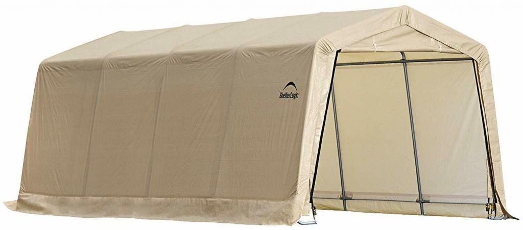 Portable Garage Shelter Instant Boat Enclosed Carport Canopy Image Sample for Portable Enclosed Carport