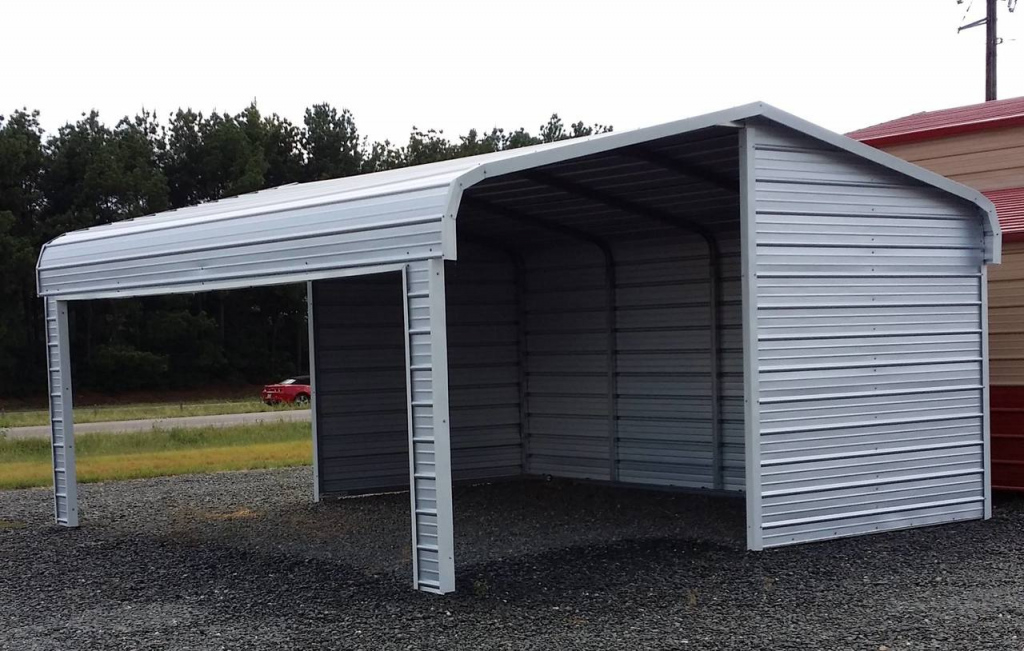 Portable Metal Garages Styles — Mile Sto Style Decorations Photo Sample for Portable Enclosed Carport
