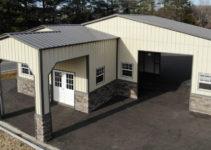 Preengineered Steel Buildings  Metal Carports  Barns Facade Sample for Metal Carport Manufacturers