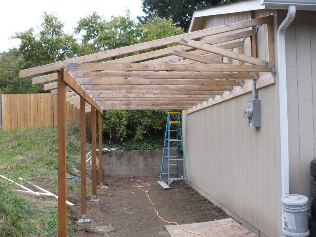 Prefab Wooden Carport Kits  Royals Courage  Good Diy Photo Example in How To Build A Metal Carport Plans