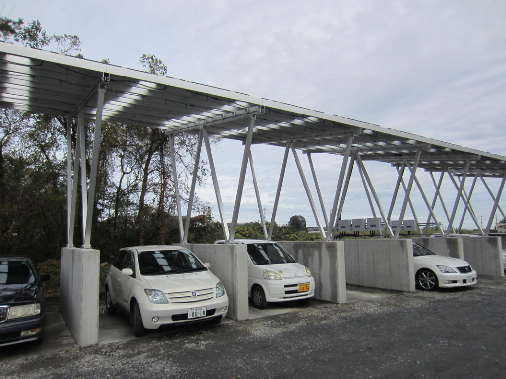 Premium Customized Pv Carport Solar Systems Great Stability Image Example for Metal Carport Installation
