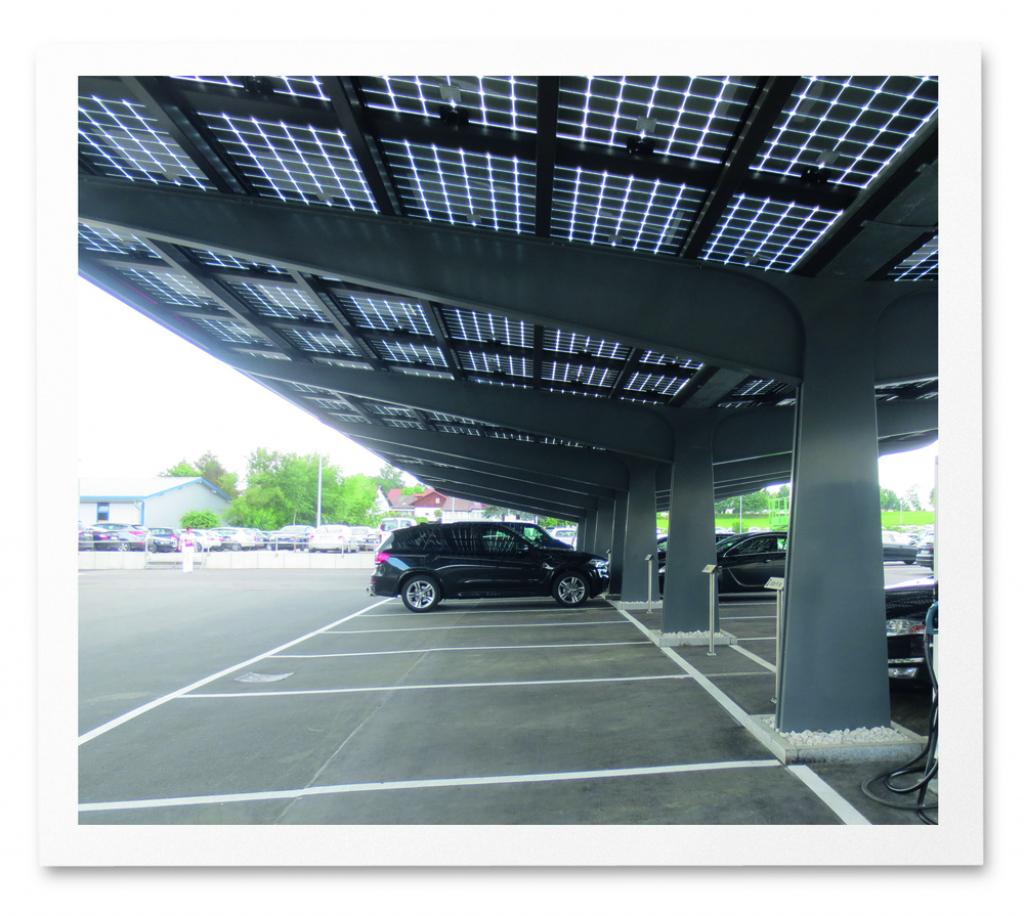Premium Solar Carport — Arausol Image Sample of Solar Carport Design