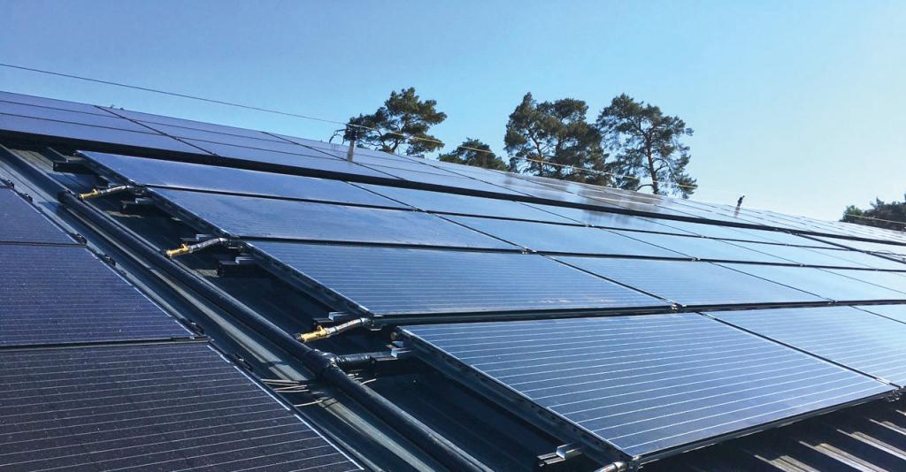 Pvtkollektoren Als Energiequelle Für Erdwärmepumpen Picture Sample in Residential Solar Carport Kit