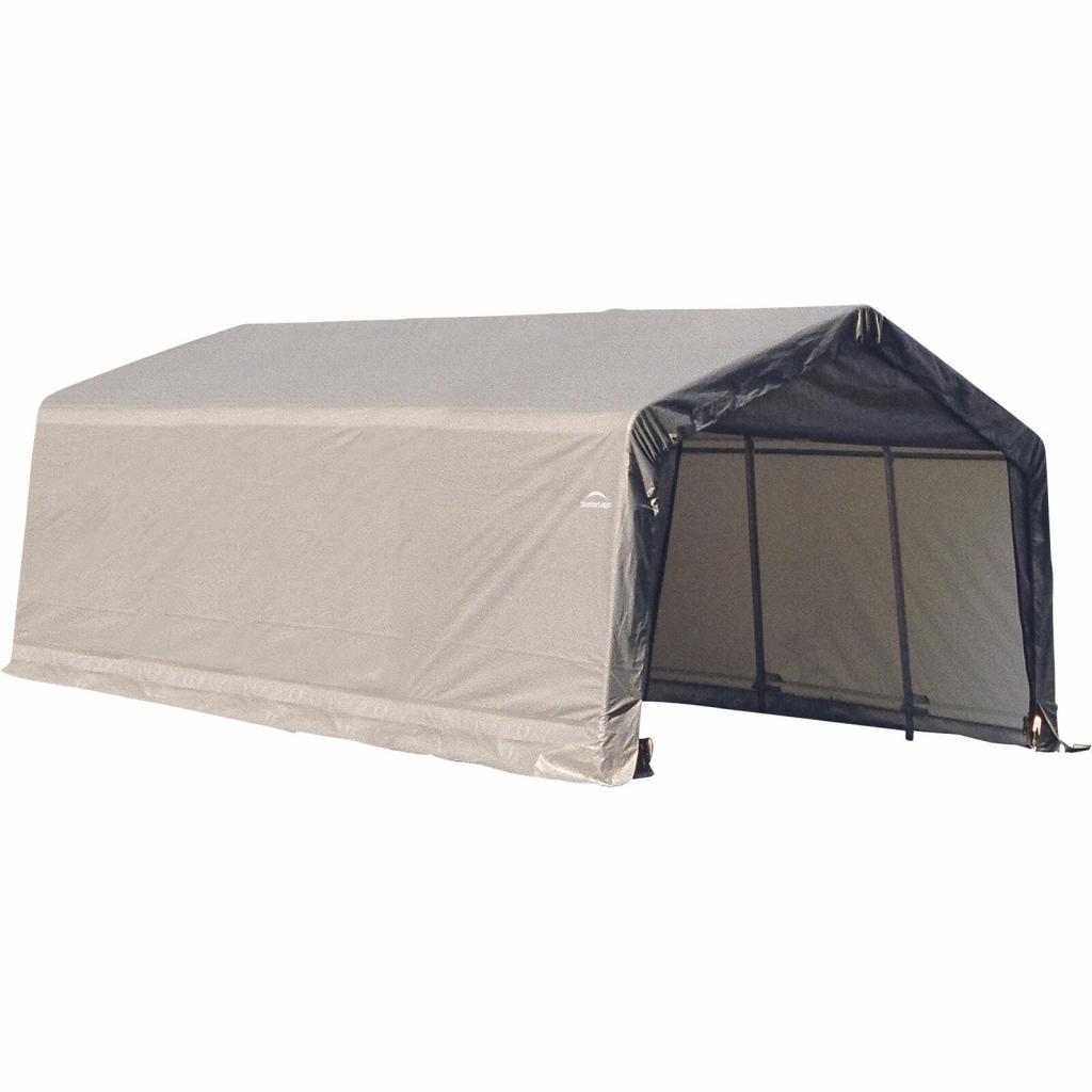Shelterlogic 12 X 20 10 Ft Instant Garage Heavy Duty Canopy Carport Picture Example for Shelterlogic Portable Garage Canopy Carport 10' X 20'