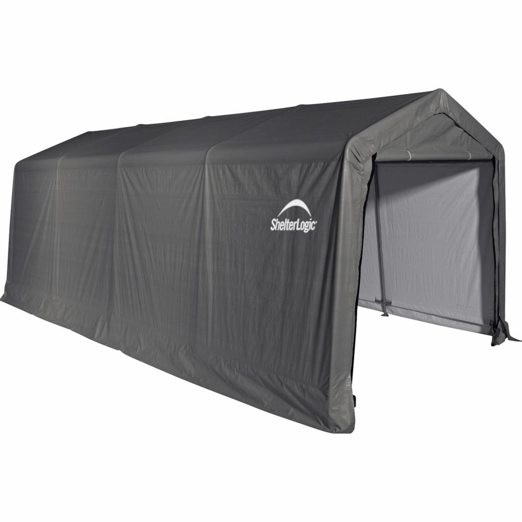 Shelterlogic Garage 183 M² Grau 300 Cm X 610 Cm Picture Sample of Shelterlogic Portable Garage Canopy Carport 10' X 20'