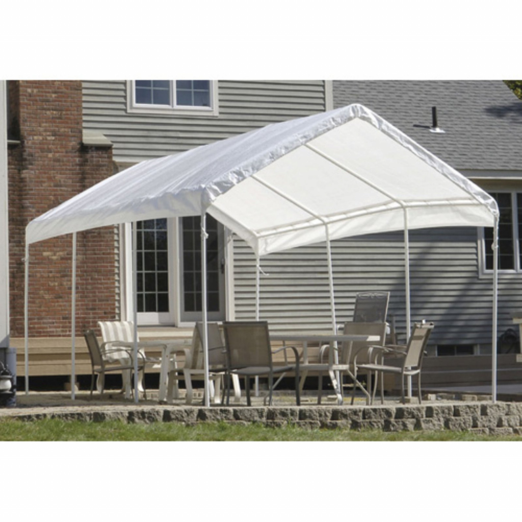 Shelterlogic Supermax 10' X 20' All Purpose Canopy Replacement Cover   Walmart Image Sample in Shelterlogic 10X20 Canopy Carport