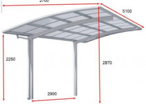 Single Slope Canopy Carport With Polycarbonate Roof  Buy Carportshelter  Carportcar Parking Product On Alibaba Photo Sample of Single Slope Metal Carport Kits