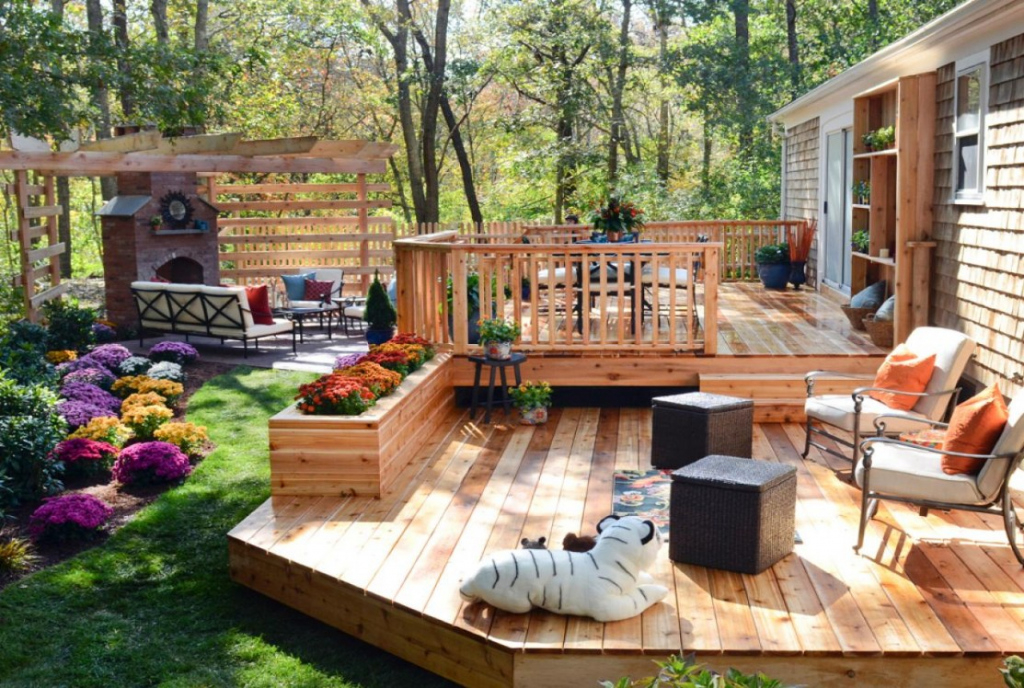 Small Back Porch Ideas Simple Wood Patio Designs Floating Photo Sample of Wood Carport Ideas