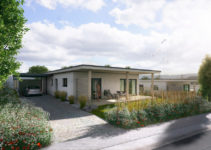 Small Houses  3K Projekt Gmbh  Schmallenberg Facade Example of Small House With Carport